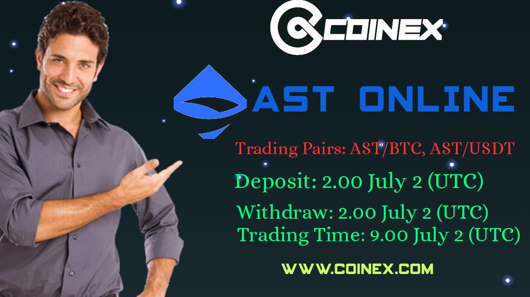 AST COIN LISTING ON COINEX